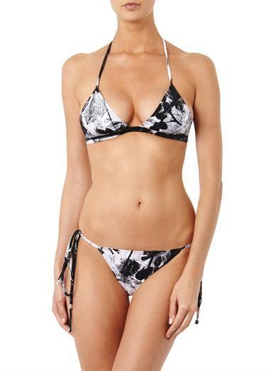 Preen by Thornton Bregazzi Novak blackbird-print bikini