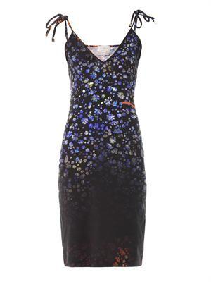 Moore floral-print dress