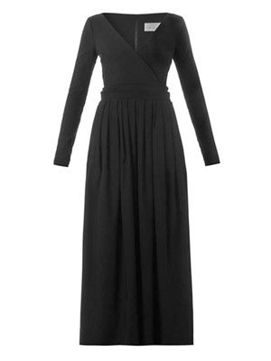 Bergman stretch-cady dress
