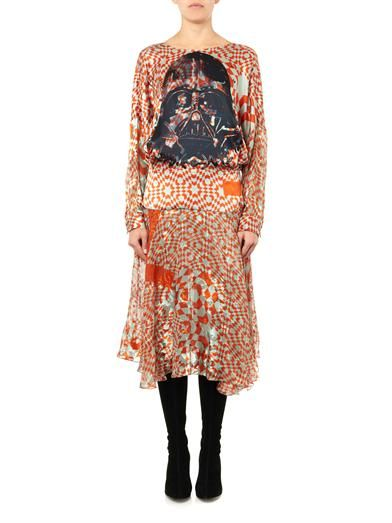 Preen by Thornton Bregazzi Saber Darth Vader-print dress