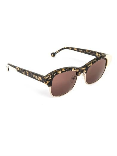 Preen by Thornton Bregazzi Patchy sunglasses