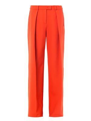 Taun wide-leg tailored trousers