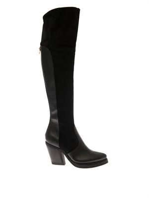 Patsy 7 suede and leather boots