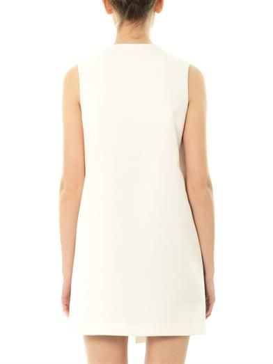 Joseph Bi-colour stretch-twill dress