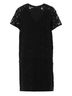 Jinny broderie-anglaise V-neck dress