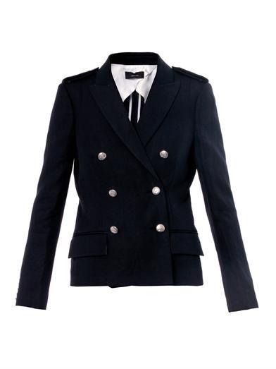 Joseph Yvette military-style blazer