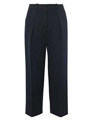 Savile cropped trousers