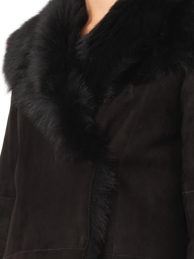 Joseph Anais long-length shearling coat