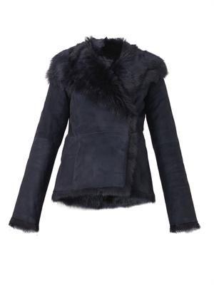 Anais short-length shearling coat