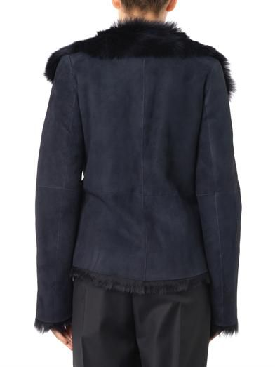 Joseph Anais short-length shearling coat