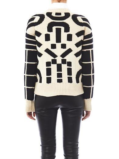 Joseph Haring jacquard knit sweater