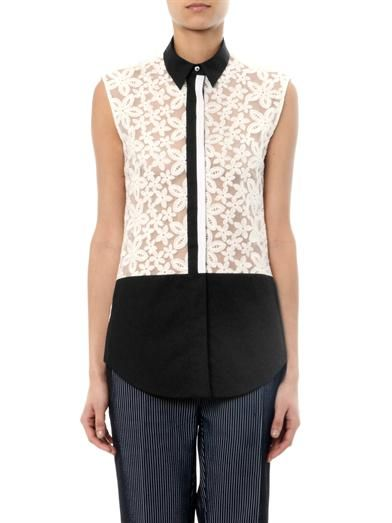 Joseph Jinny broderie-anglaise blouse