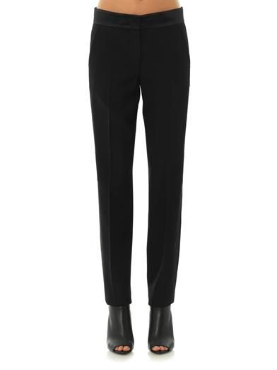 Joseph Tuxedo wool-crepe trousers