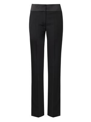 Jagger wide-leg tailored trousers