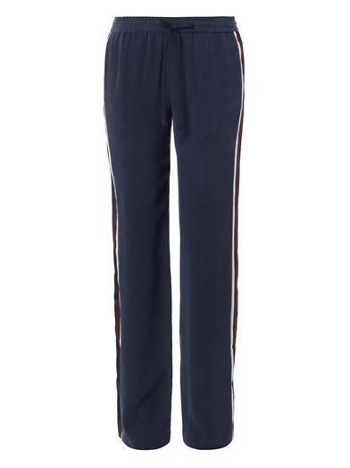 Joseph Pyjama Smoking wide-leg silk trousers
