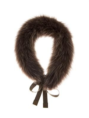 Uniion fox fur collar