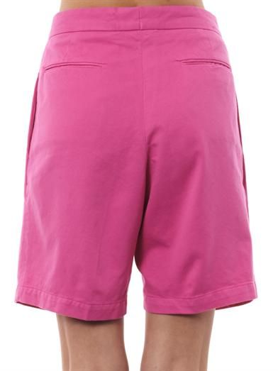 Aries Tailored cotton shorts