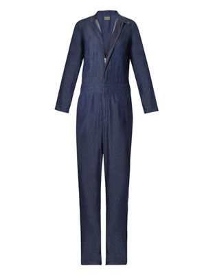 Cipputi denim boiler suit