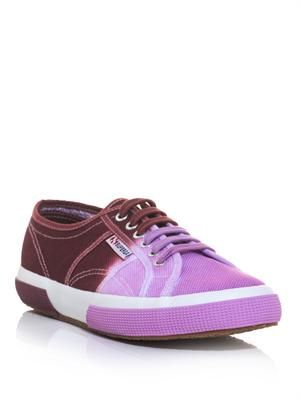 2750 Ombre canvas trainers