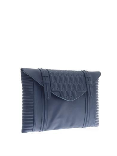 Reece Hudson Bowery oversized leather clutch