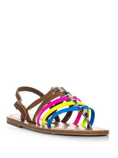 K. Jacques Multi-strap sandals