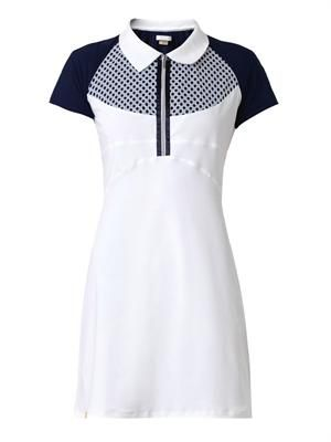 Short-sleeved performance dress