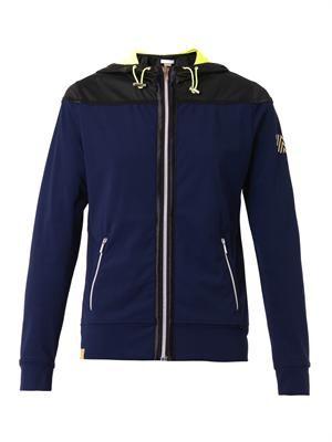 Performance hooded jacket