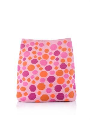 Liliana spotty clutch bag