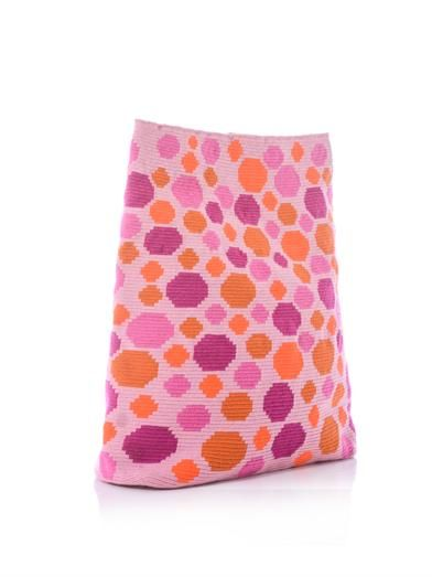 Sophie Anderson Liliana spotty clutch bag