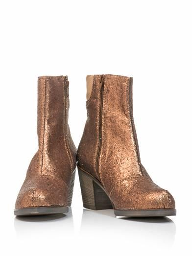 Maison Martin Margiela Mm6 Glitter ankle boots