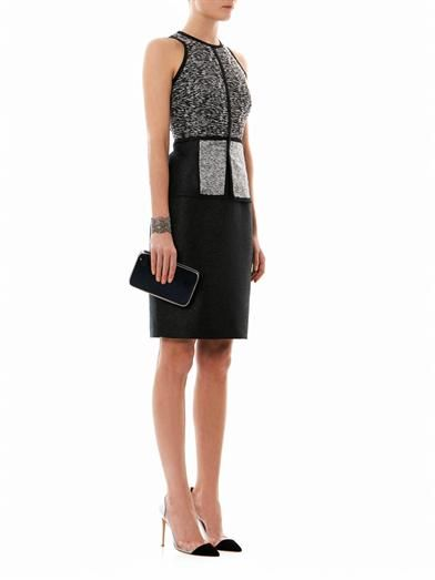 Jonathan Simkhai Contrast panel sleeveless dress