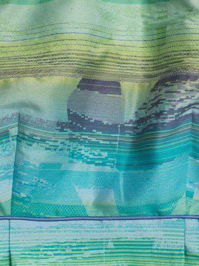 Jonathan Simkhai Printed peplum top