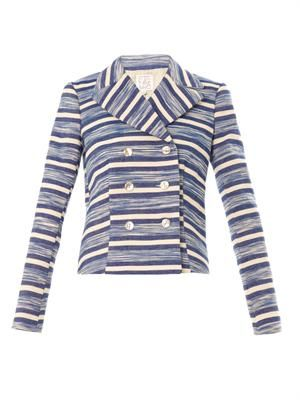 Gelso striped jacket