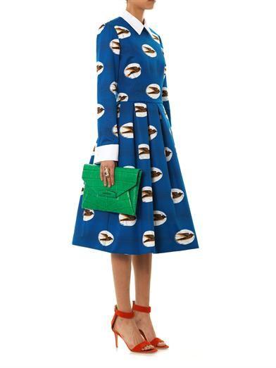 Stella Jean Angelica swallow-print dress