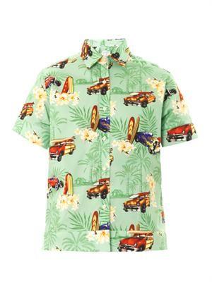Mela Hawaiian-print shirt