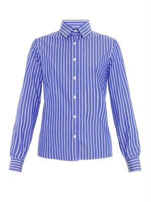 Carmela striped cotton shirt