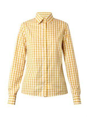 Carmela gingham-print shirt