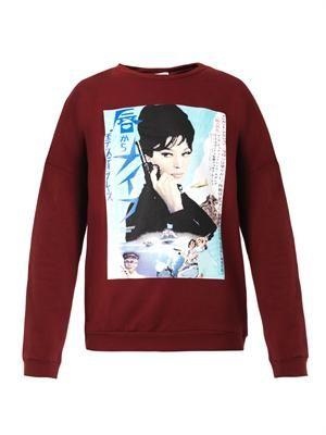Verdiana Monica Vitti-print sweatshirt