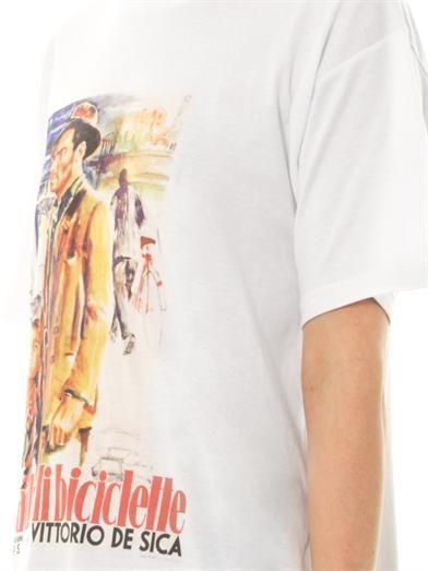 Stella Jean Ladri di biciclette print T-shirt