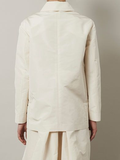 Rochas Faille coat