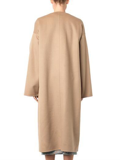 Rochas Wool and alpaca-blend overcoat