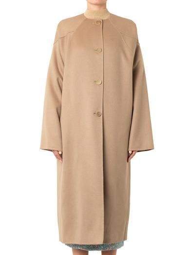 Rochas Wool and alpaca-blend overcoat