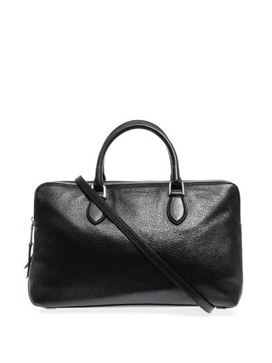 Rochas Late double-zip leather tote