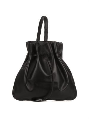 Tilda leather backpack