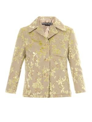Duchess flower devoré jacket