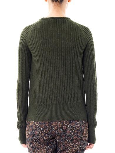 Rochas Argyle-knit sweater