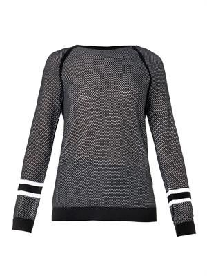 Martina perforated sweater