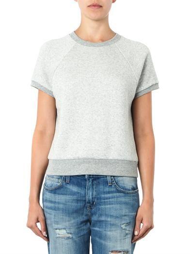 Rag & Bone Rocky short-sleeved sweatshirt