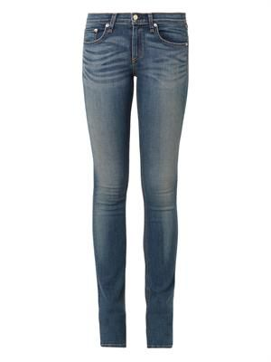 The Cigarette mid-rise jeans
