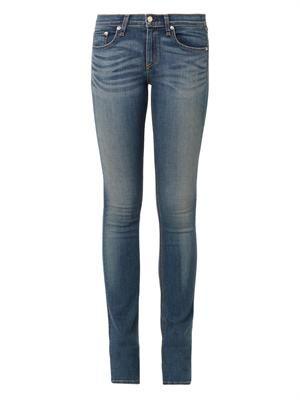 The Cigarette mid-rise jeans